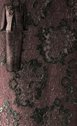 French Lace Fabric – Mocca