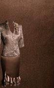 Genoa Satin Fabric – Mocca