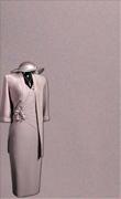 Genoa Satin Fabric – Oyster Pink Matt