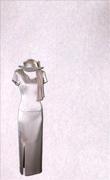 Genoa Satin Fabric – Oyster Pink
