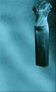 Genoa Satin Fabric – Teal Blue
