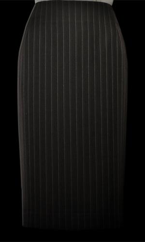 Vicky Mar Pinstripe Skirt