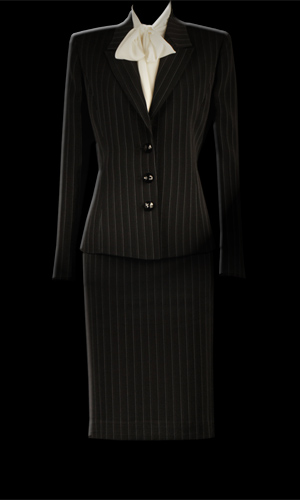Vicky Mar Pinstripe Jacket