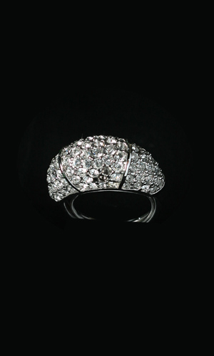 Swarovski Crystals Diamonte Ring