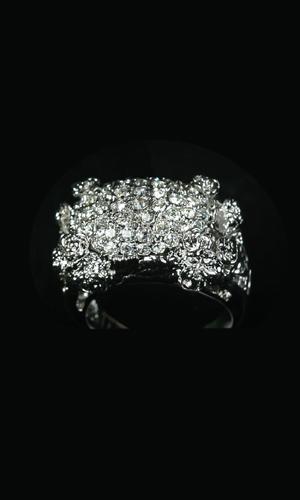 Swarovski Crystals Big Ring