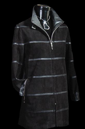 Vicky Mar Jacket Horizontal Trim - Black