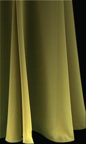 Chiffon Long Skirt - Chartreuse
