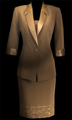 3/4 Sleeve Jacket - Brown