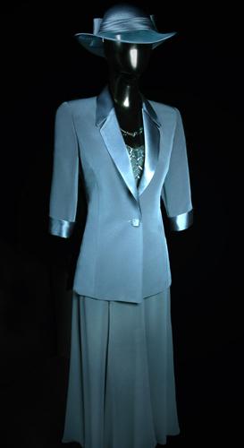3/4 Sleeve Jacket - Teal Blue