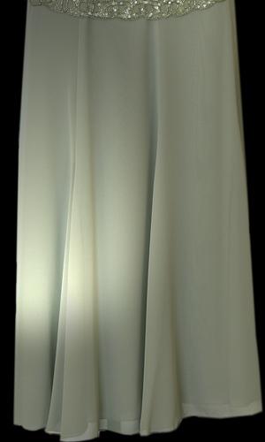 Chiffon Long Skirt - Mild Green